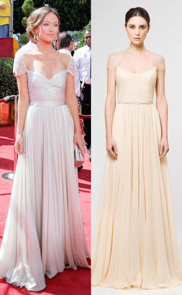 Celeb Wedding Dresses, Olivia Wilde