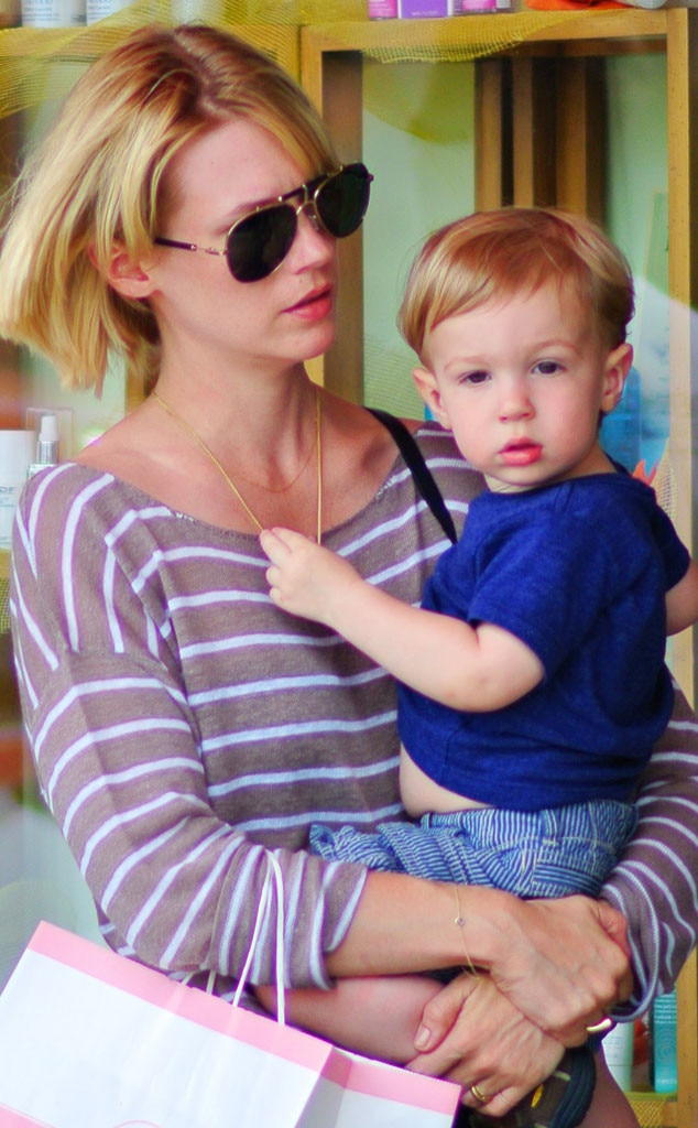 January Jones, Xander