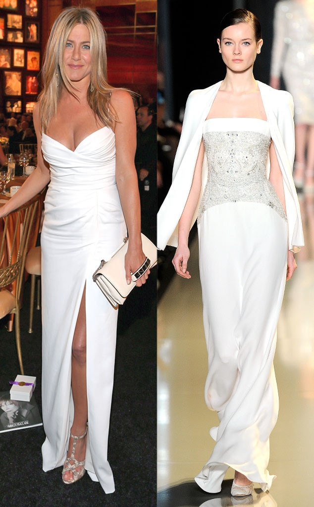 Celeb Wedding Dresses, Jennifer Aniston