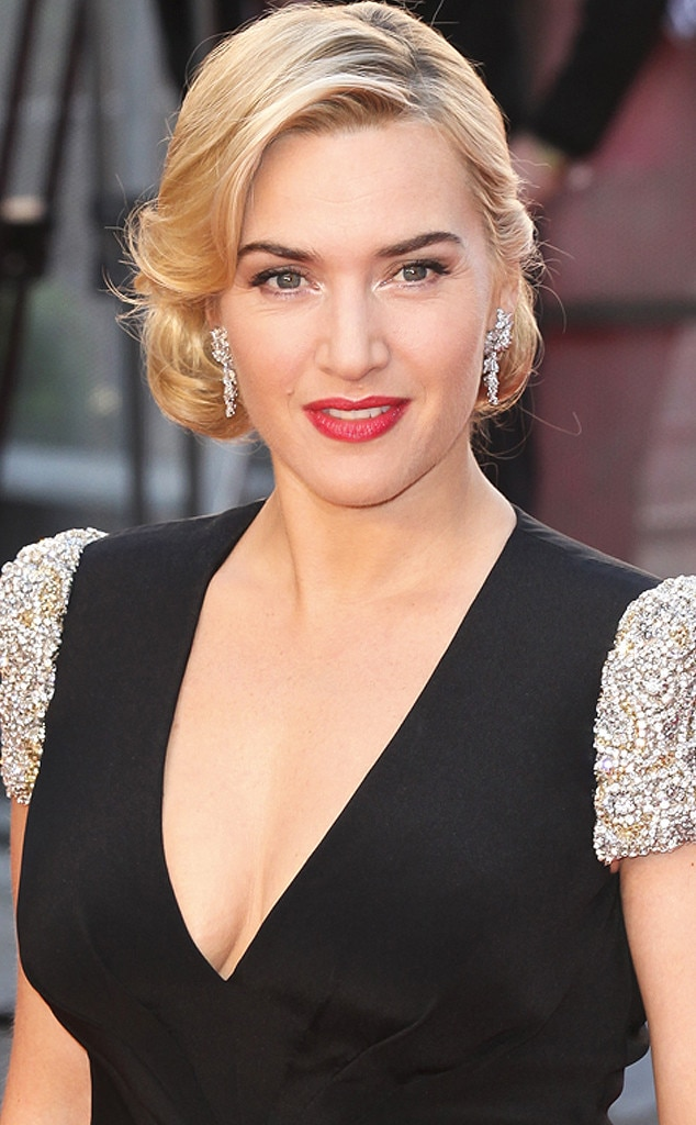 Kate Winslet, Bridal Hair