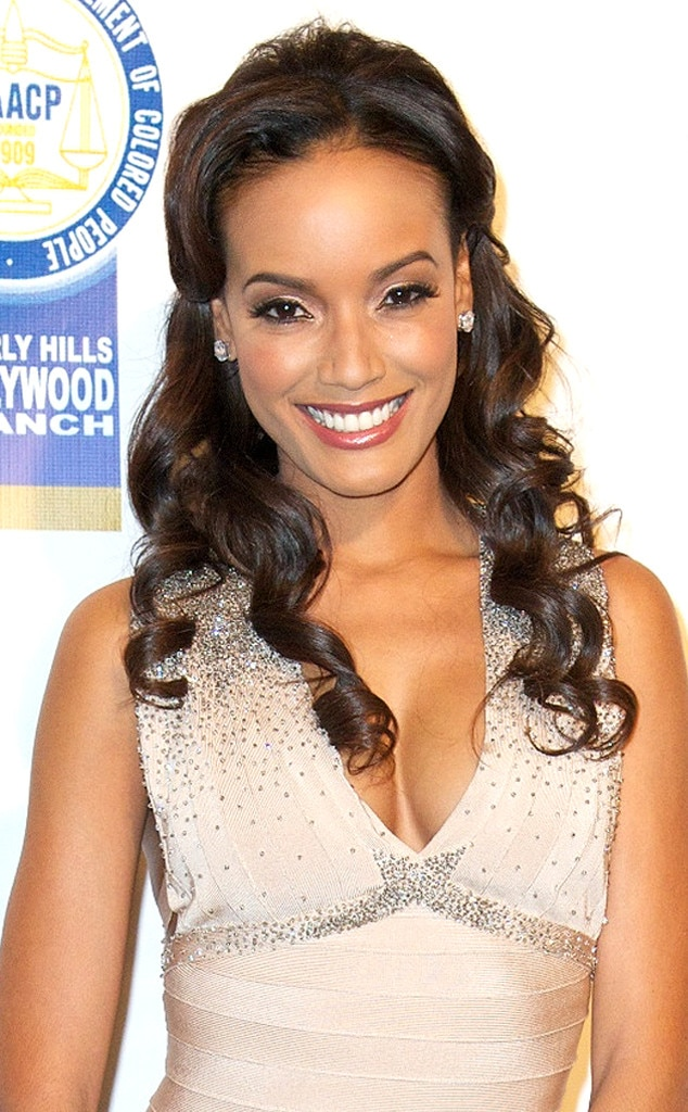 Selita Ebanks, Bridal Hair
