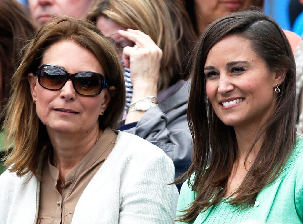 Pippa Middleton, Carole Middleton, Tennis