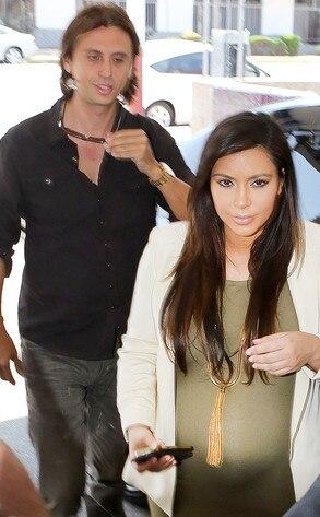 Kim Kardashian, Jonathan Cheban, Casa Vega