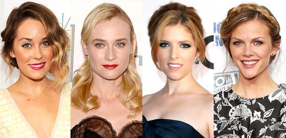 Diane Kruger, Brooklyn Decker, Anna Kendrick, Lauren Conrad,Bridal Hair