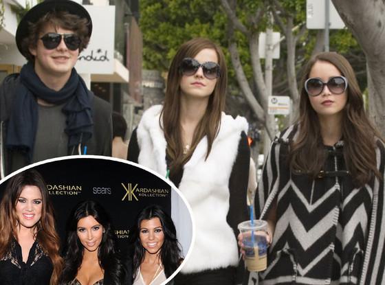 The Bling Ring, Kardashian Sisters
