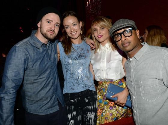 Justin Timberlake, Olivia Wilde, Dianna Agron, Kenna