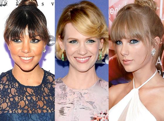 January Jones, Taylor Swift, Kourtney Kardashian