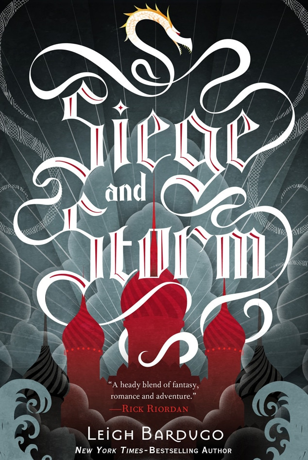 Siege and Storm, Book Cover