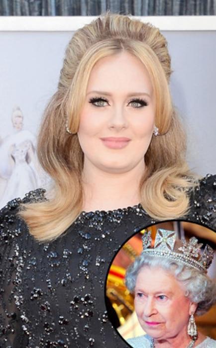 Adele, Queen Elizabeth