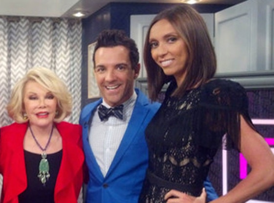 Joan Rivers, George Kotsiopoulos, Giuliana Rancic