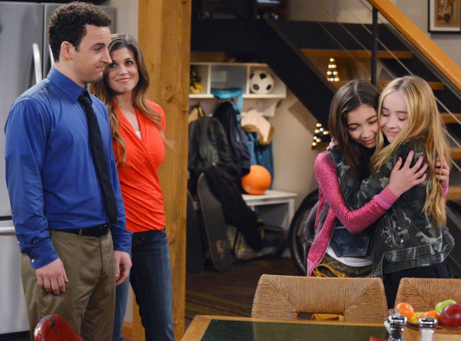 Ben Savage, Danielle Fishell, Rowan Blanchard, Sabrina Carpenter, Boy Meets World