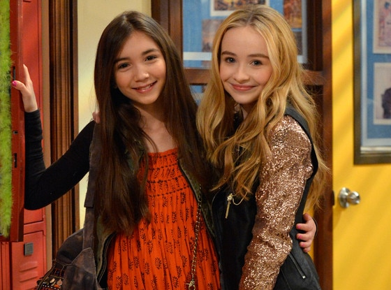 Rowan Blanchard, Sabrina Carpenter, Boy Meets World