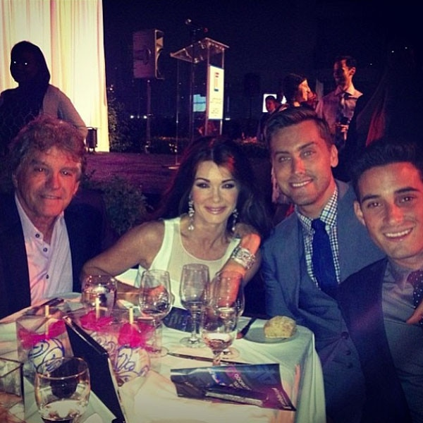 Lisa Vanderpump, Lance Bass, Instagram