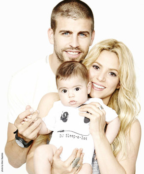 Gerard Pique, Shakira, Milan