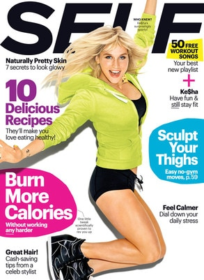 Kesha, Ke$ha, Self Magazine