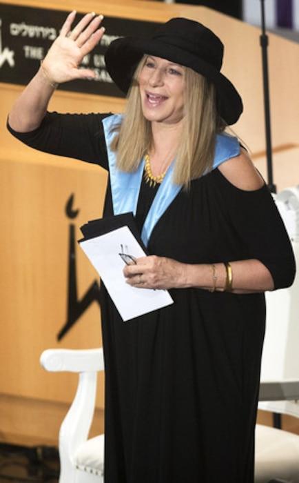Barbra Streisand, Israel
