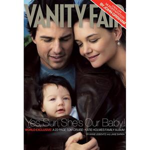 Tom Cruise, Katie Holmes, Vanity Fair cover