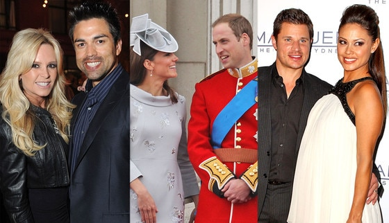 Tamra Barney, Eddie Judge, Duchess Catherine, Kate Middleton, Prince William, Nick Lachey, Vanessa Minillo