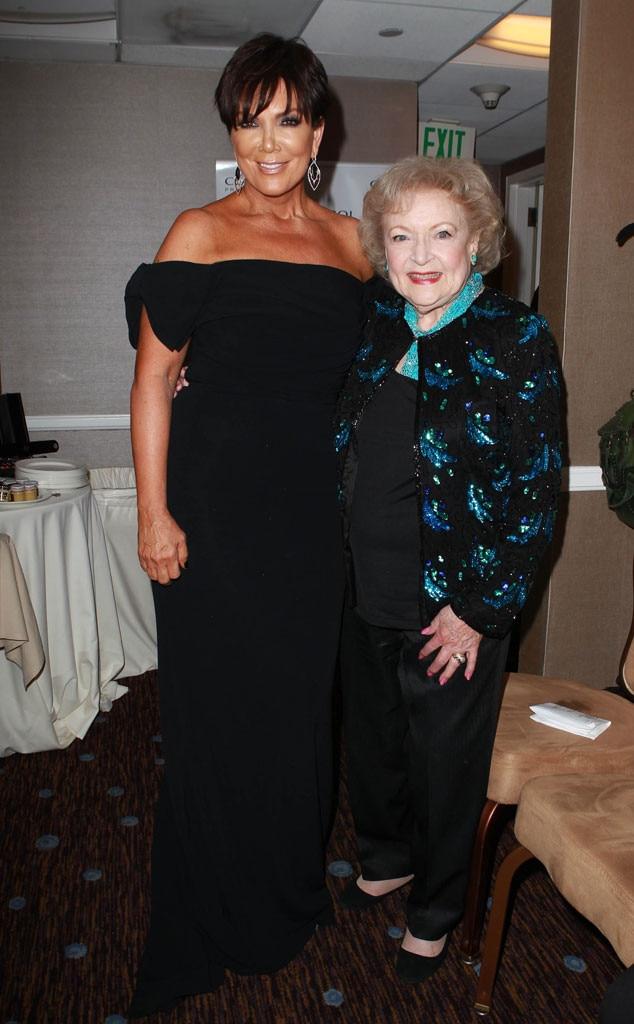 Betty White, Kris Jenner