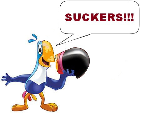 Toucan Sam Beakless