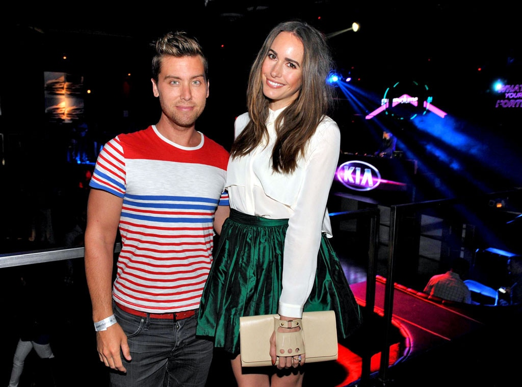 Louise Roe, Lance Bass