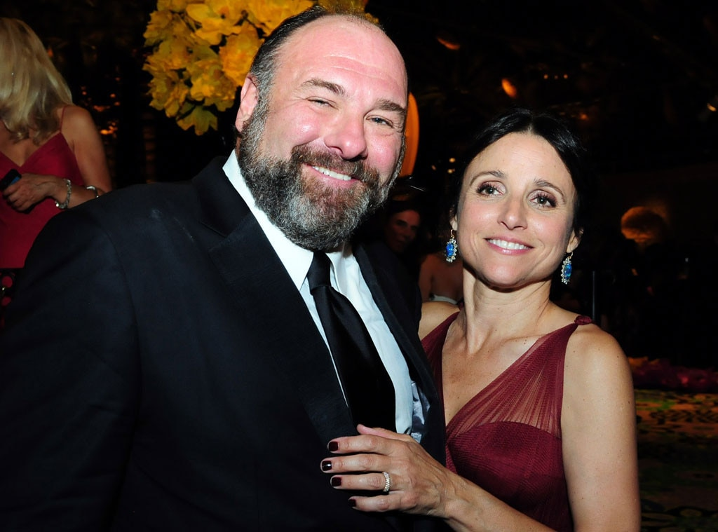 James Gandolfini, Julia Louis-Dreyfus