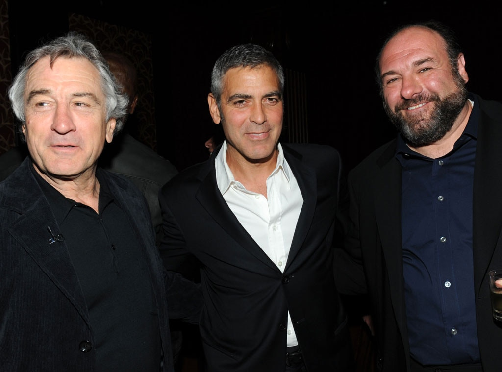 Robert DeNiro, George Clooney, James Gandolfini