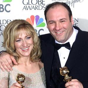 James Gandolfini, Edie Falco, Golden Globes