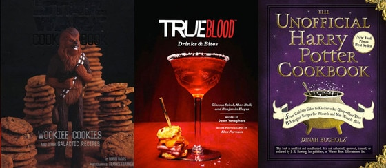 True Blood Drinks & Bites, Star Wars, Harry Potter Cookbook