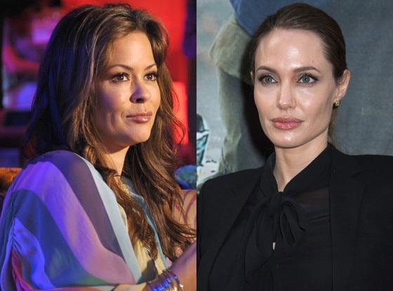 Brooke Burke, Angelina Jolie