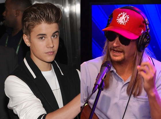 Kid Rock, Howard Stern, Justin Bieber