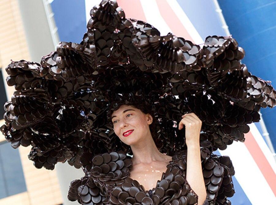 Larisa Katz, Royal Ascot, Crazy Hat
