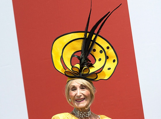 Florence Claridge, Royal Ascot, Crazy Hat