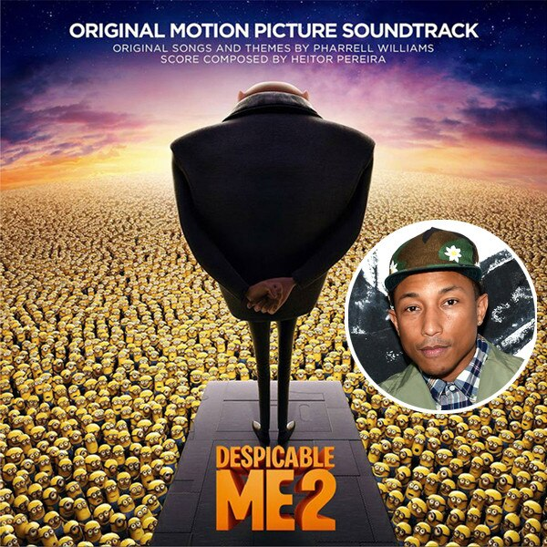 Despicable Me 2 Album,  Pharrell Williams