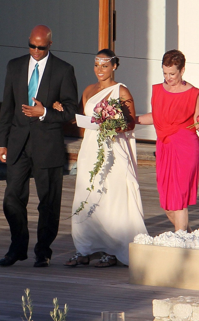 Alicia Keys, Wedding