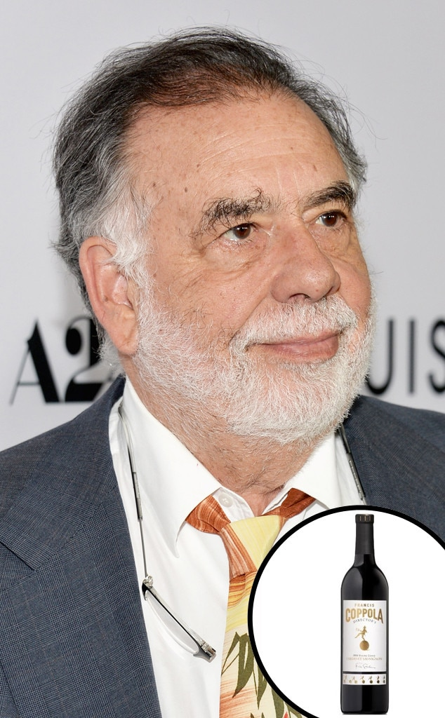 Celebrity Alcohol, Francis Ford Coppola