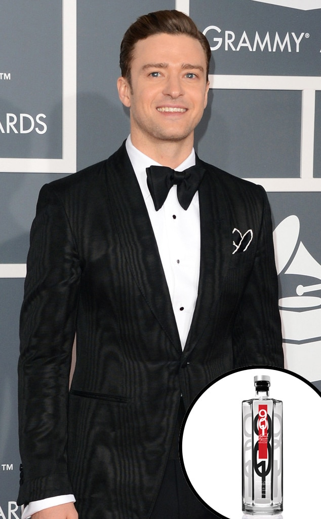 Celebrity Alcohol, Justin Timberlake