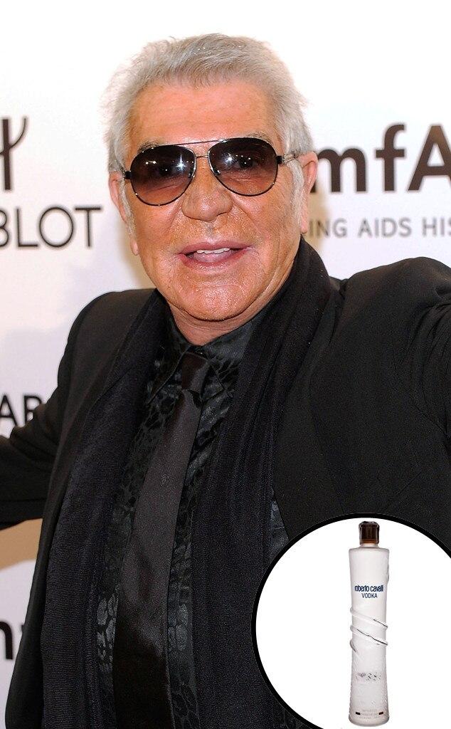 Celebrity Alcohol, Roberto Cavalli