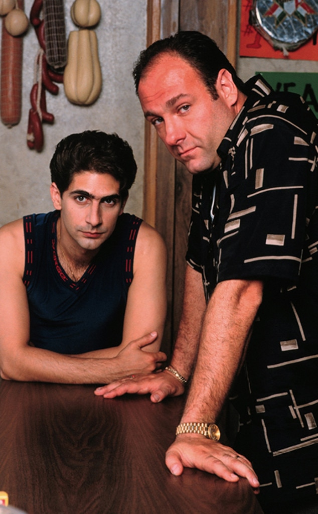 James Gandolfini, Michael Imperioli, The Sopranos