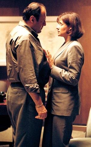 James Gandolfini,  Lorraine Bracco, The Sopranos, Onscreen Rehab and Therapy