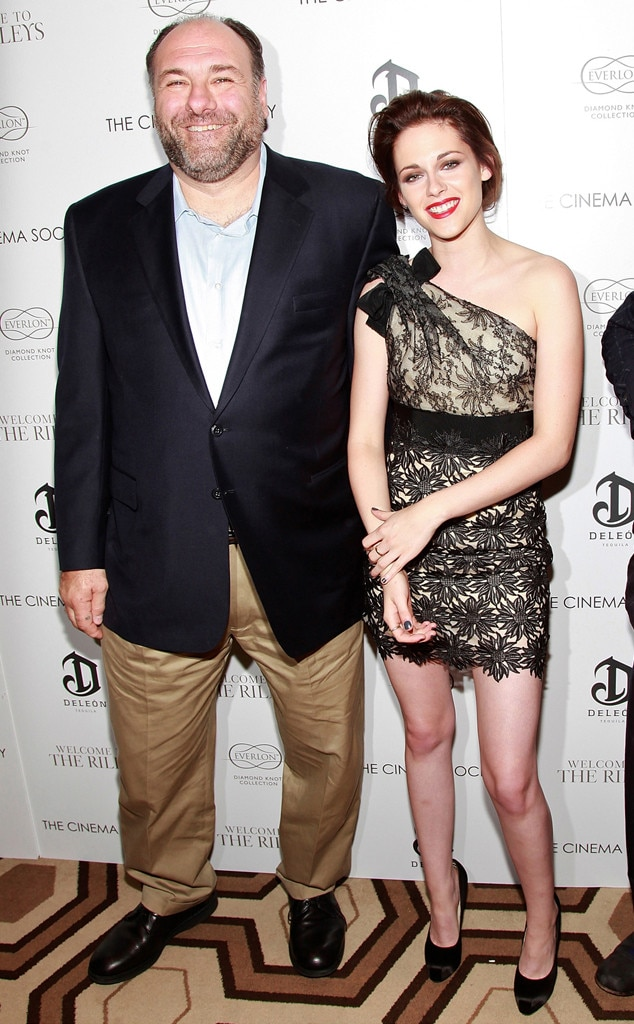 James Gandolfini, Kristen Stewart