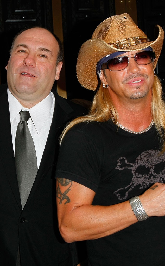 James Gandolfini, Bret Michaels