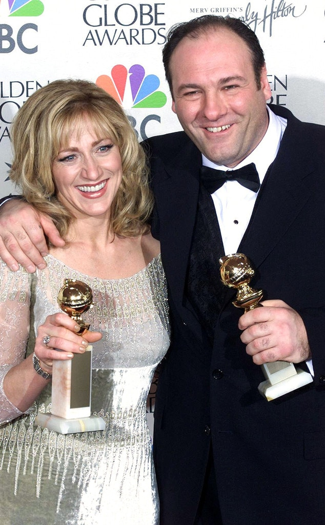 James Gandolfini, Edie Falco, Golden Globes