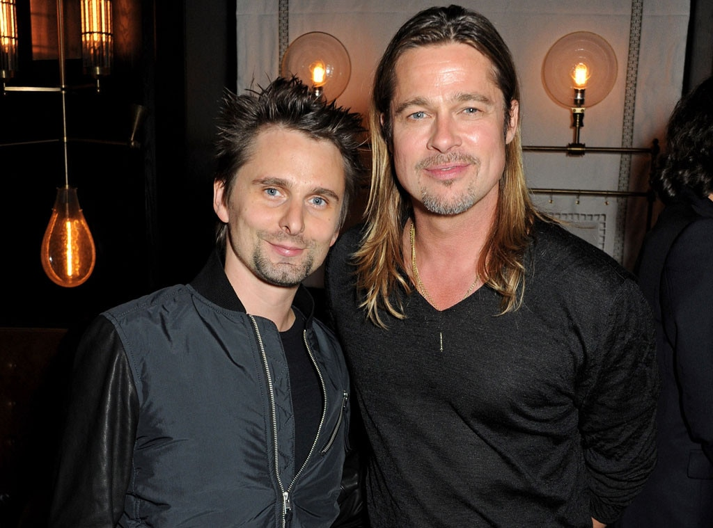Matt Bellamy, Brad PItt