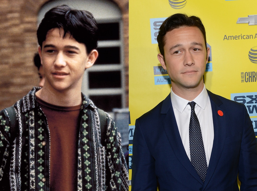 Joseph Gordon-Levitt, Then and now