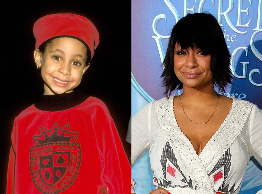 Raven Symone, Then and now