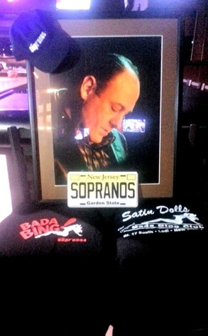 Bada Bing Strip Club, James Gandolfini Shrine