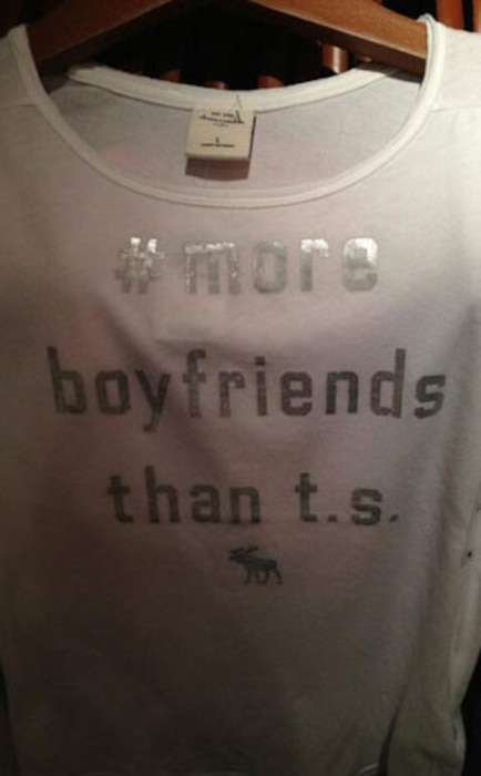 Abercrombie's Taylor Swift t-shirt