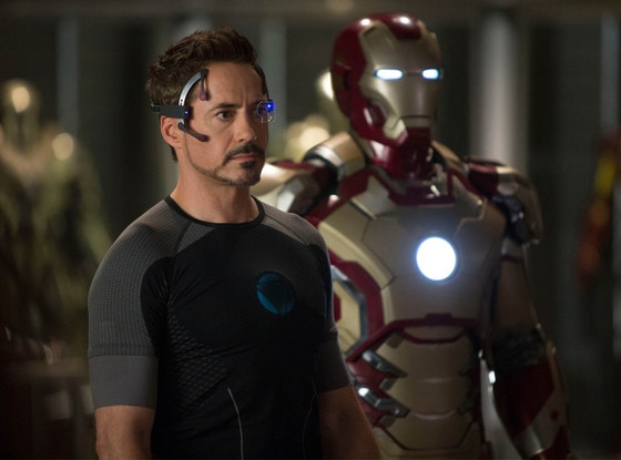 Robert Downey, Jr, Iron Man 3