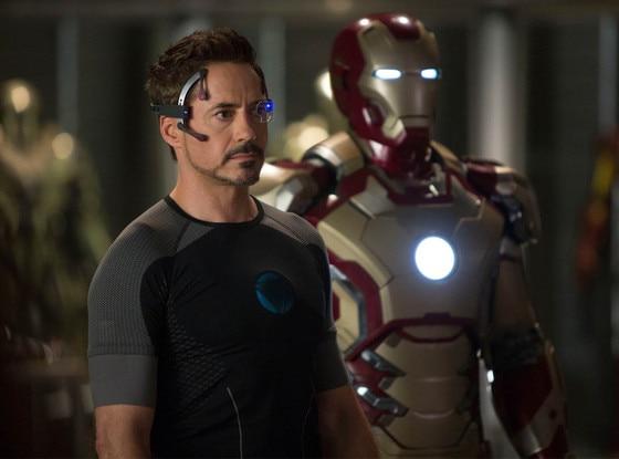 Robert Downey, Jr, Iron Man 3